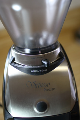 The Baratza Preciso all new coffee grinder