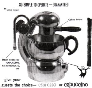 The Atomic Espresso Maker manual from Bon Trading instructions